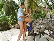 Sesso Sulla Spiaggia Con Pompinara Insaziabile
