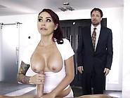Hot Wife Monique Alexander Runs A Spa With Extra Service