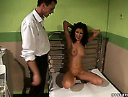 Skinny Brunette Chick With Tight Pussy Hole Is Fucked With Sex T