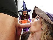 Mother I'd Like To Fuck Cory Celebrates Halloween With An Fuckfe