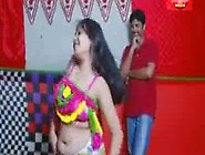 Bhojpuri Bhabhi Romance With Lover In Masala Movie