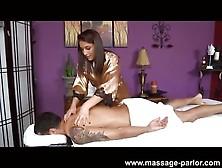 Neighborly Massage Ends In Fast Handjob