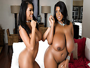 Katt Garcia & Maserati In Thick On Thin - Brazzers