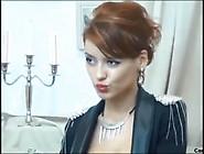 Sexy Slim Red Head Hottie Stripz & Fingerz Pussy ~ ₭Āŧ℮Ⱥśℎ #5