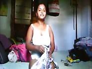Bosom Exposed On Cam By Bangla Girl