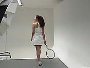 Zarema Is A Shy Tennis Player Who Likes Masturbating Hard
