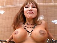 Mature Slut With Huge Tits Gets Gangbanged Hard.