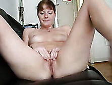 My Extremely Sexy Wife Spreads Her Legs And Masturbates With A D