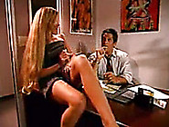 My Mean Boss Fucks Our Hot Blonde Secretary At His Office