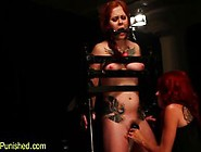Clamped Restrained Sub Toyed