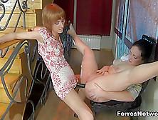 Backdoorlesbians Scene: Sophy And Gwendolen