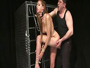 Deep Throating Submissive Gets Fucked Anally