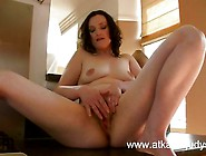 Babe Emily Marshall Gets Randy In The Kitchen