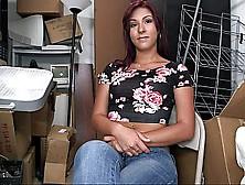 Big Ass Latina Sophia Steele Showing Us Her Ass