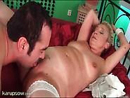 Mature Sucks A Big Cock That Fucks Her Hard