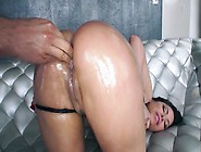 Dark Haired Porn Star With A Killer Booty Needs Some Anal Fun