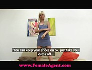 Female Agent Vs Fake Agent