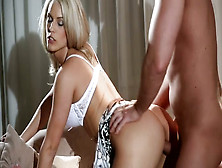 Elegantly Beautiful Blonde Loves When Her Bf Take Control Of Sex