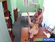 Horny Milf Swallows A Load Of The Good Doctors Cum After Some Fu