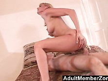Blonde Darryl Hanah Gets Her Pussy Nailed