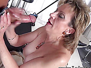 Busty Blonde Isabel Ice Face Fucked And Eats Sperm