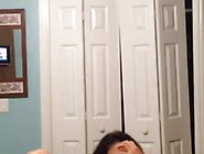Cute Teen Latina Teasing In Red Panties