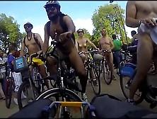 Nudists On Public Bikes