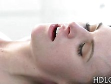 Beautiful Teen Enjoys A Passionate Fucking In A Close Up