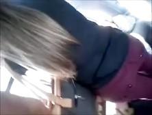 Encoxada 257: Spectacular Blond N A Cock On Her Ass