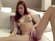 Sexy Red Head Milf Plays With Pussy On Webcam