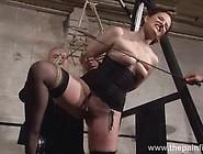 Nasty Brunette Is An Obedient Slave