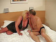 Sexy Mature Blonde Withstanding Rough Face Fucking