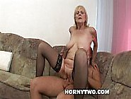 Horny Juicy Old Granny Gets Her Fat Wet Shaved Pussy Destroyed B
