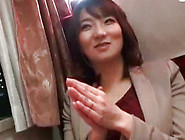 Awesome And Sexy Japanese Girl Is Dreaming About Sex In The Trai