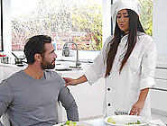 Best-Looking Cook Ever Lexy Bander Screwed By The Horny Stud