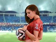 Soccer Body Paint Japan