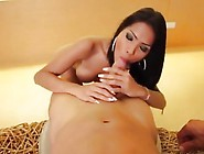 Curvaceous Asian Shemale Eagerly Rides A Big Black Meat Bazooka
