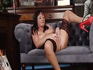 Milf Elise Solo In Stockings