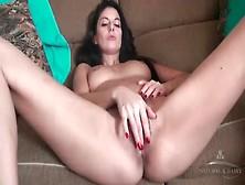 Milf Rubs Her Hairy Pussy In Solo Fingering Video