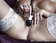 Milf With Big Tits Double Real Long Pussy Pulsing Orgasms