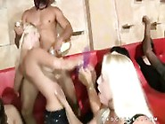 Totally Insane Group Cfnm Blowjob Party