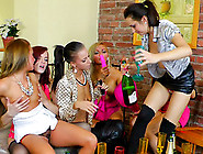 Group Of Mature Pornstars Having Fun Indoors With Toy Cocks Whil