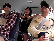 Impassioned Japanese Reality Stars Fucking Hardcore In A Bus