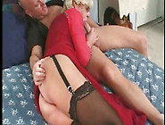 Vintage Mature Tranny Loves Cock Balls Deep In Her Ass