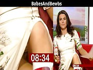 Susanna Reid Best Downblouse And Upskirt Compilation
