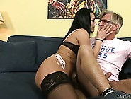 He Stretches Angel's Asshole With His Cock Then Sticks In A Mons