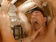 Some Fun In A Big Boobs Oil Orgy
