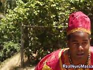 Black Nuru Masseuses Fuck Video