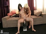 Fetching Hirsute Teenage Tart Having A Perfect Lesbian Sex
