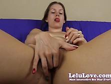 Lelu Love Finger Fucks Her Warm Slot